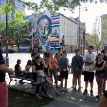 Wizyta studentów z Lublina